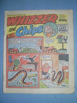 Whizzer and Chips issue dated March 2 1985