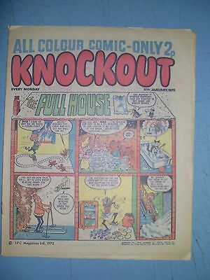 Knockout issue dated January 8 1972