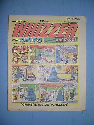 Whizzer and Chips issue dated November 17 1973