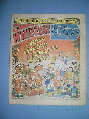 Whizzer and Chips issue dated December 29 1979 Christmas issue