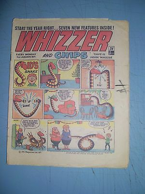 Whizzer and Chips issue dated January 2 1971