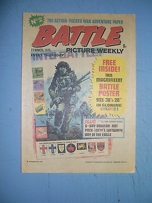 Battle Picture Weekly issue 2 dated March 15 1975