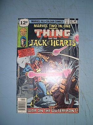 Marvel Two in One issue 48 Marvel Comics 1979 bronze age