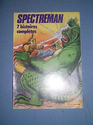 Spectreman 1982 softback Collection Telejunior 5 french comic manga anime
