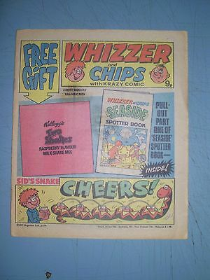 Whizzer and Chips issue dated May 12 1979