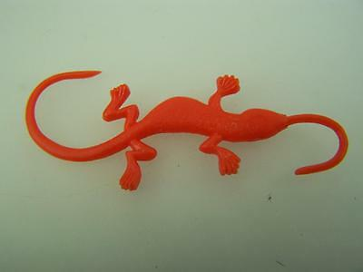 Cereal Toy R&L 1969 Swinging Pets Loopy Lizard Red              1618