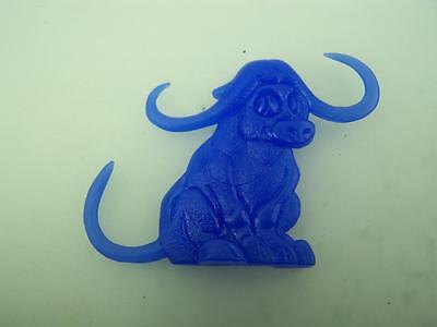 Cereal Toy R&L 1969 Swinging Pets Bonza Bull Blue            1609