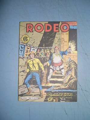 Rodeo issue 386 French western comic