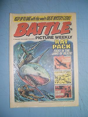 Battle Picture Weekly issue dated January 3 1976