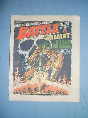 Battle Picture Weekly issue dated January 22 1977