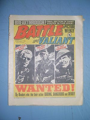 Battle Picture Weekly issue dated November 13 1976