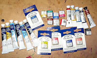 Winsor and Newton Artists Watercolour Paints