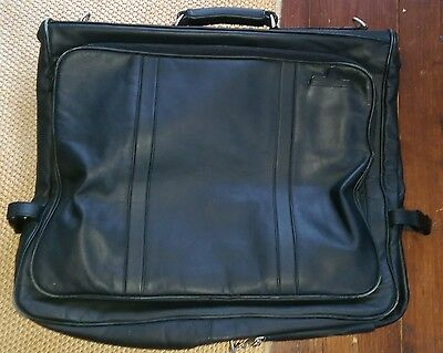 Nappa Leather Suit/Garment Carrier