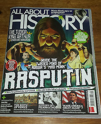ALL ABOUT HISTORY MAGAZINE - The Mad Monk Rasputin - Issue 049 2017