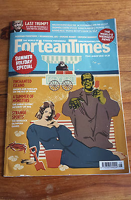 FORTEAN TIMES - August 2016 Issue # 343 - Summer Holiday Special Mary Shelly