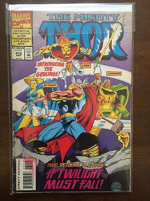 Marvel Comics - The Mighty Thor: Vol.1, #472 - March 1994 - Near Mint