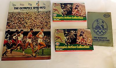 The Olympics 1896-1972 Esso Sticker Album Bundle (Olympics Action Collection)
