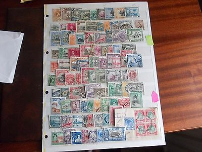 Collection of KGV1 British Colonial Stamps