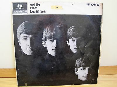 THE BEATLES - With The Beatles 1963 UK LP PARLOPHONE 1st Pressing