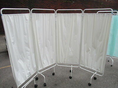 privacy screen Medical Screen 4 Panel