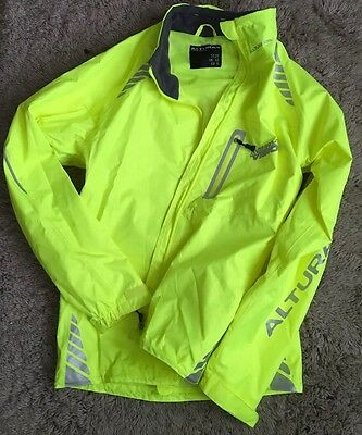 Hi-Viz Cycling Running Walking Jacket - ALTURA - UK Size 12
