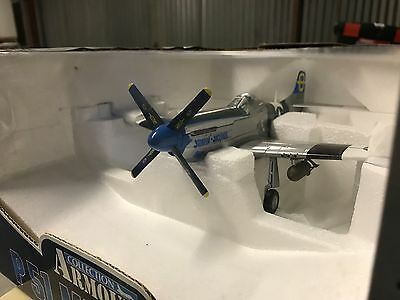 Armour Collection Diecast P51 Mustang jumpin Jacques 1:48