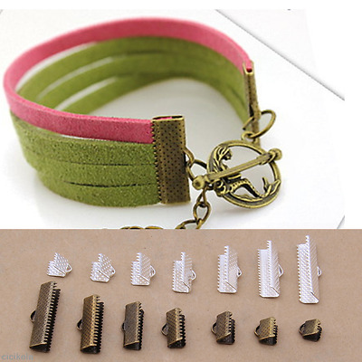 100PC DIY Findings Buckle Clasp Lobster Screw Connector Bracelet Jewelry Making