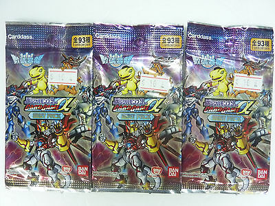 Digimon Alpha Card Game Best Pack Random Type 15 Card 3 Packs Japanese