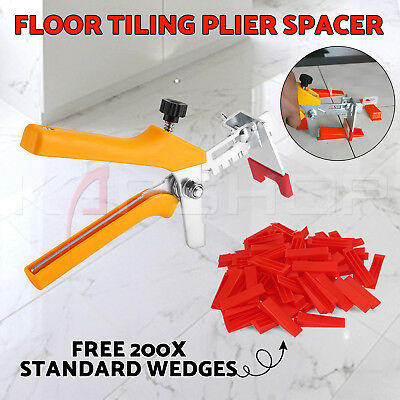 801 Kit Tile Leveling System 550 Clips+250 Wedges+1 Plier Floor Tiling Spacer OZ