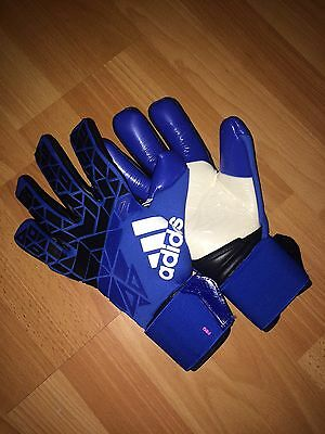 adidas ace trans pro Goalkeeper Gloves Size 8.5 Blue BLAST Pink ACE 17 BRAND NEW
