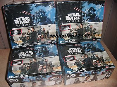 Topps Star Wars - BOX 36 x sachet - 180 of cards STAR WARS Rogue One NEW BOX