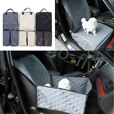 Waterproof Car Front Seat Protector Cover Mat Single Seat For Pet Dog Cat Travel