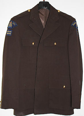 RCMP / Royal Canadian Mounted Police Historische Braune Uniform Arbeitsjacke