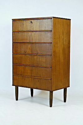 60er TEAK KOMMODE DÄNISCHES DESIGN HIGHBOARD DANISH DESIGN 60s