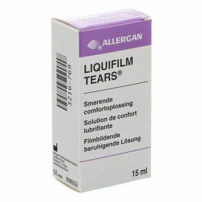 Liquifilm Tears Eye Drops 15ml 1 2 3 6 12 Packs