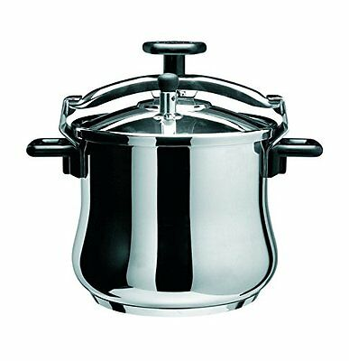 New Artame Induction and all hobs PRESSURE COOKER Stainless Steel6.5L Litre