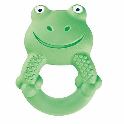 MAM Friend Teether Max The Frog Green 4+ Months 1 2 3 6 12 Packs