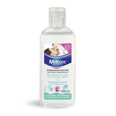 Milton Antibacterial Hand Gel 100ml 1 2 3 6 12 Packs