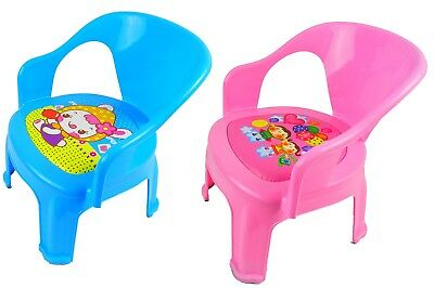 Quality Kids, Children, Plastic Squeaky Sound  Chair, Home, Picnic, Party