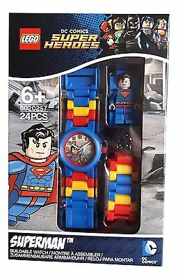 30 Brand New Lego Superman Watches Joblot Resell Market Trade Party bags favours