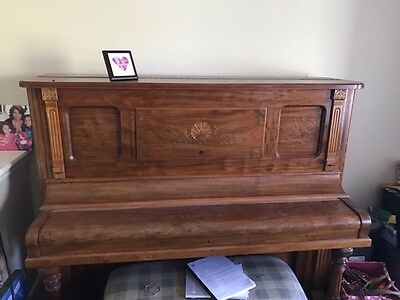 DECKER BROTHERS Antique Piano