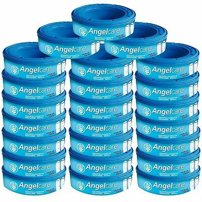 Angelcare Nappy Disposal System Refill Cassette - Pack of 24