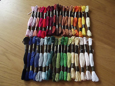 Trebla 100% cotton Cross Stitch Embroidery Stranded Cotton 8 metres FREE P&P