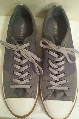 Unisex Blue Canvas All Star Converse Sneakers Men 11.5/Women 13.5