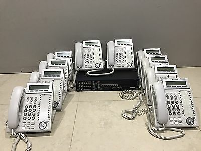 Panasonic KX-NCP500 Plus 10X Panasonic KX-DT333 Telephones