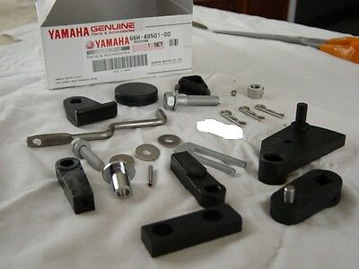 Yamaha 9.9 - 15 Hp Remote Control Conversion Kit 66M-48501-00-00 Used $119