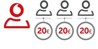 Coupon Ricarica 60€ Vodafone a soli 14,99€ ,un coupon per numero