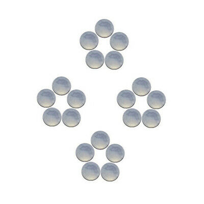 6x6mm 20pc AAA Quality Rose Cut Faceted Cabochon Chalcedony Loose Gems