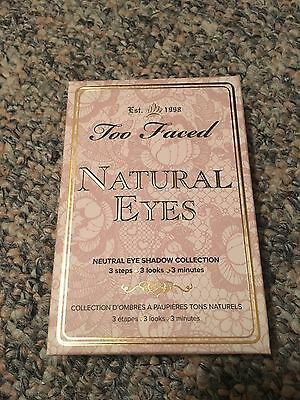 Too Faced Natural Eye Neutral Eye Shadow Collection Eye Shadow Palette