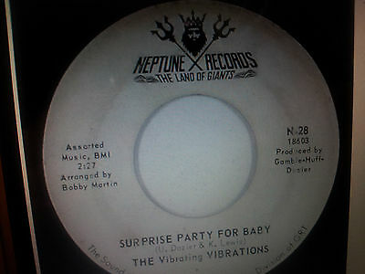 VIBRATIONS - Surprise Party For Baby  - RARE Northern Soul - Neptune 18603 - EX+